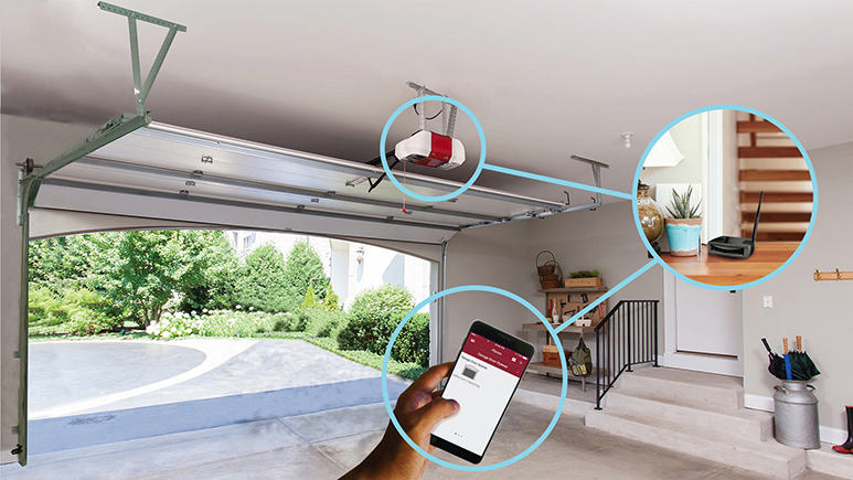 Guided Assist Connect A Wi Fi Garage Door Opener To A Network